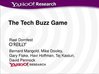The Tech Buzz Game