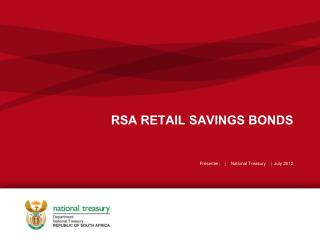 RSA RETAIL SAVINGS BONDS