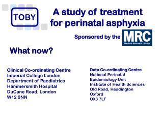 A study of treatment  for perinatal asphyxia