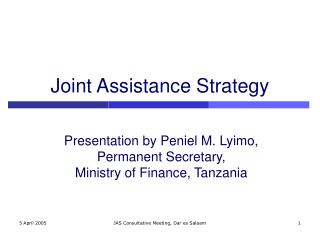 Joint Assistance Strategy