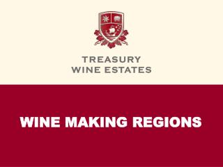 WINE MAKING REGIONS
