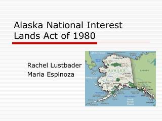 Alaska National Interest Lands Act of 1980