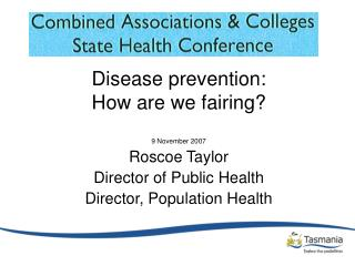 Disease prevention: How are we fairing?