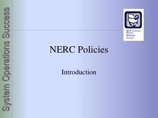 NERC Policies