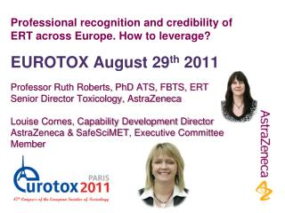Professional recognition and credibility of ERT across Europe. How to leverage?