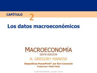 Los datos macroecon ómico s