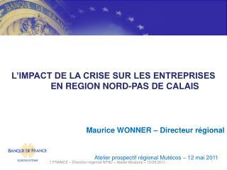 Maurice Banque de France