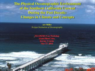 Art Miller Scripps Institution of Oceanography