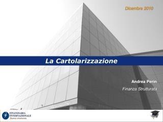 Andrea Perin  Finanza Strutturata
