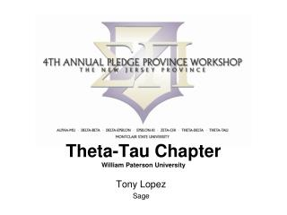 Theta-Tau Chapter William Paterson University