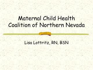 Maternal Child Health Coalition of Northern Nevada