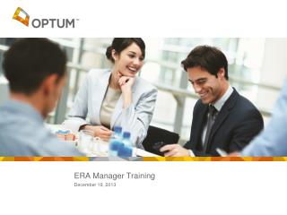 ERA Manager Training