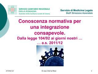 Conoscenza normativa per una integrazione consapevole.