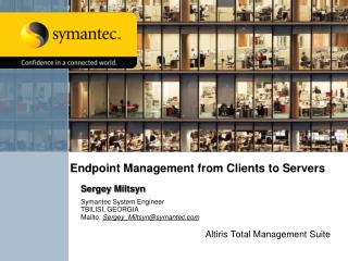 Endpoint Management from Clients to Servers