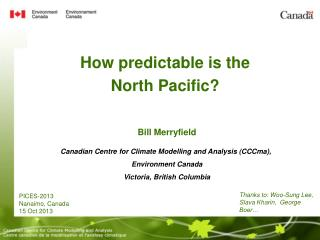 How predictable is the North Pacific?