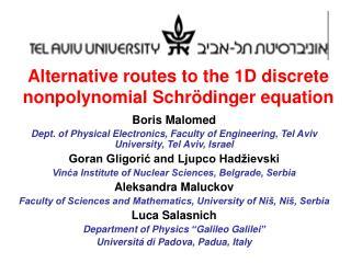 Alternative routes to the 1D discrete nonpolynomial Schrödinger equation