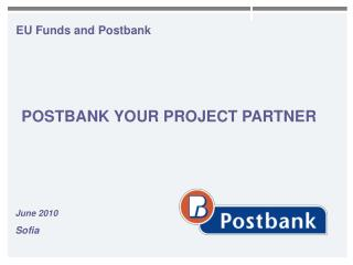EU Funds and Postbank