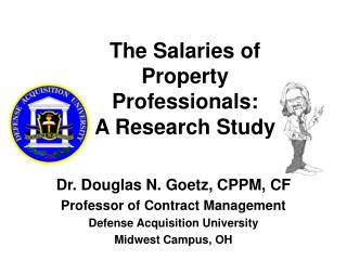 The Salaries of  Property Professionals:  A Research Study