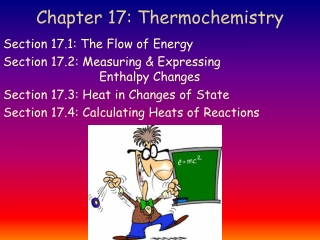 THERMOCHEMISTRY AND THERMODYNAMICS