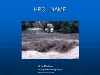 HPC - NAME