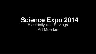 Science Expo 2014