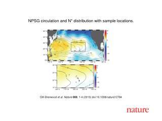 OA Sherwood et al.  Nature  000 ,  1 - 4  (201 3 ) doi:10.1038/nature 12784