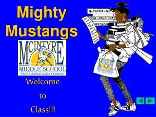 Mustangs on the Move .