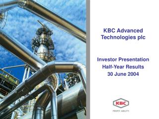 KBC Advanced Technologies plc