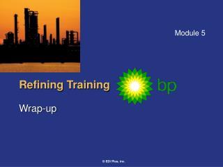 Refining Training