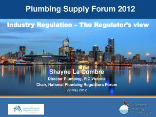 Plumbing Supply Forum 2012