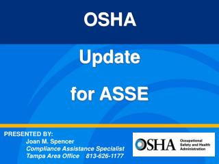 OSHA  Update  for ASSE