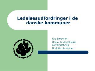 Ledelsesudfordringer i de  danske kommuner