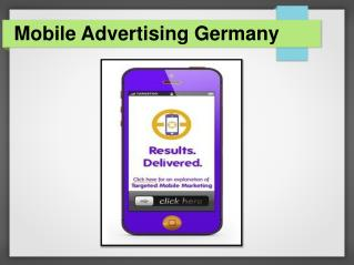 Mobile Advertising & Marketing Services in Germany