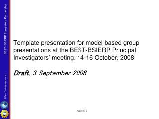 Draft , 3 September 2008