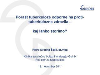 Golnik,  18. november 2011