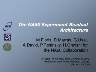 The NA60 Experiment Readout Architecture