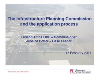 A new planning process for national infrastructure projects