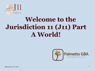 Welcome to the Jurisdiction 11 (J11) Part A World!