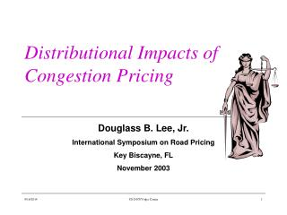 Distributional Impacts of Congestion Pricing