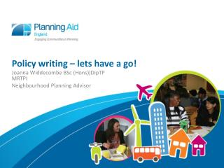 Policy writing – lets have a go!
