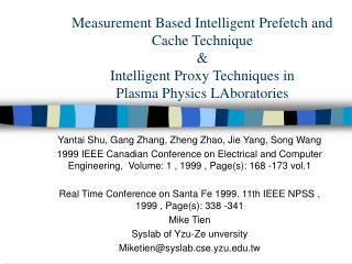 Yantai Shu, Gang Zhang, Zheng Zhao, Jie Yang, Song Wang
