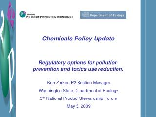 Chemicals Policy Update