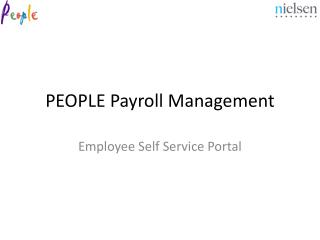 PEOPLE Payroll Management