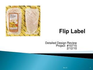 Flip Label