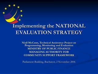 Implementing the NATIONAL EVALUATION STRATEGY