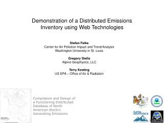 Stefan Falke Center for Air Pollution Impact and Trend Analysis