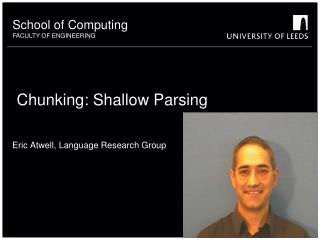Chunking: Shallow Parsing