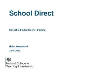 School Direct