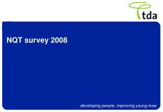 NQT survey 2008