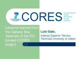 Luís Gato,  Instituto Superior Técnico, Technical University of Lisbon